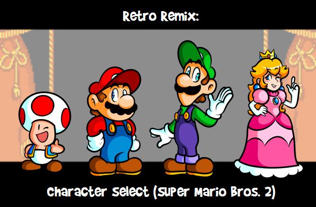 Super Mario Bros 2 Character Select Super Mario 3d World Google