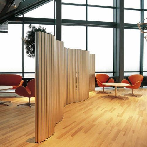 Cardboard Tube Room Divider Screens Fritz Hansen Viper Room - Diy cardboard room divider privacy screen