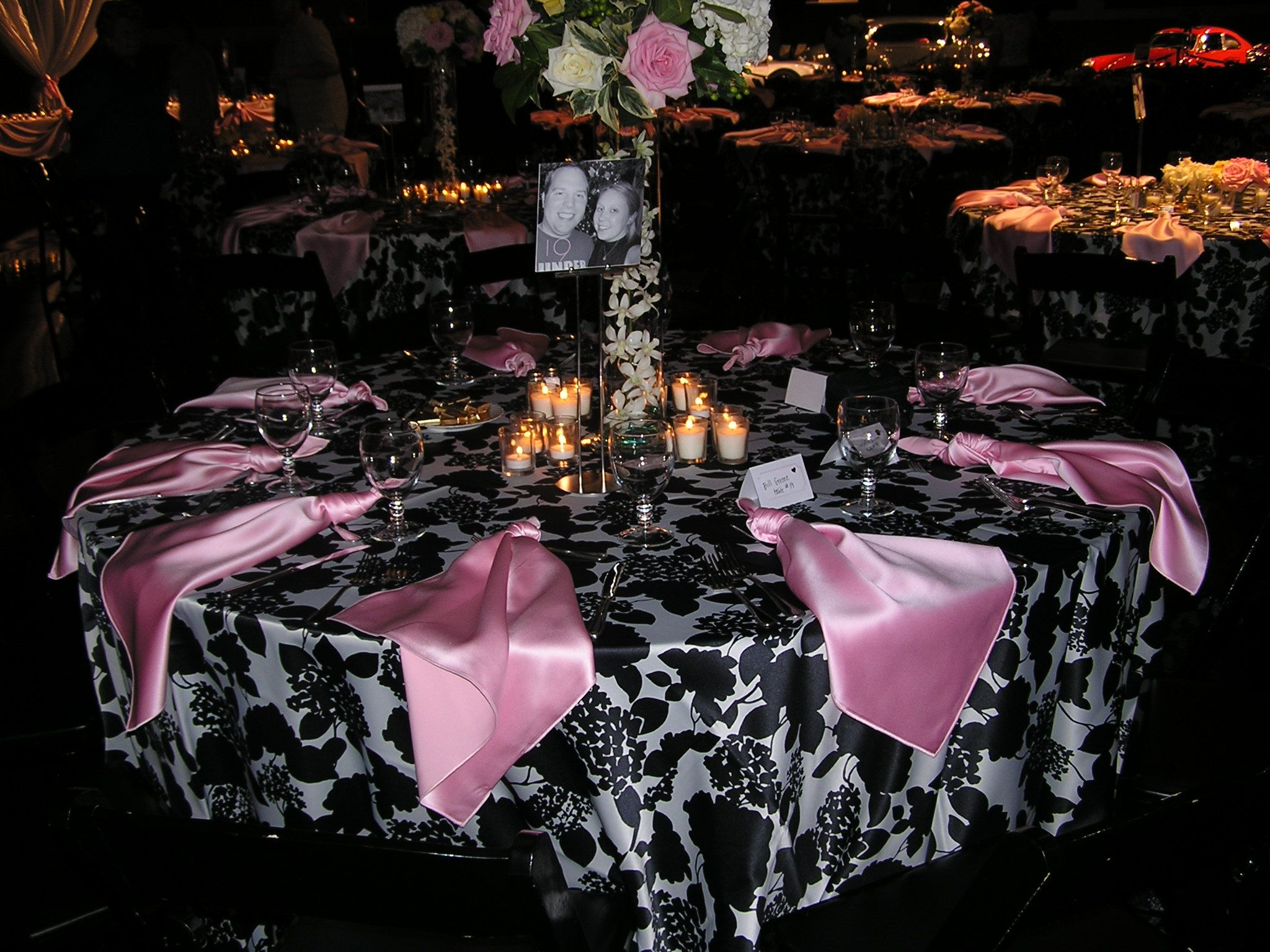 table settings | Kemp Museum Elegant Table Setting - Catering by ...