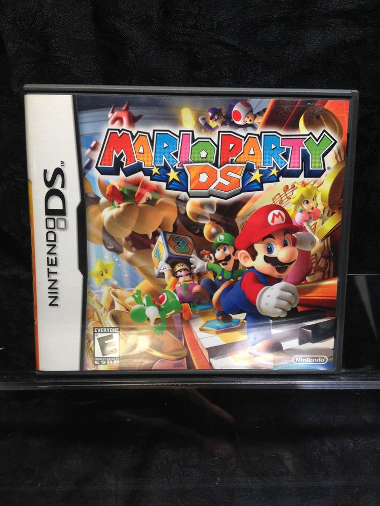 Mario Party Ds For Nintendo Ds Also For 3ds Xl Dsi Ds Lite Mario Party Nintendo Ds Ds Games