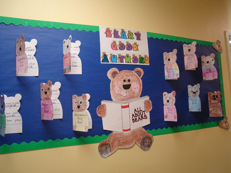 All About Bears Reading Bulletin Board Idea