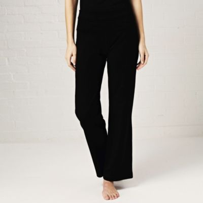 Roll Top Trousers - Black from The White Company