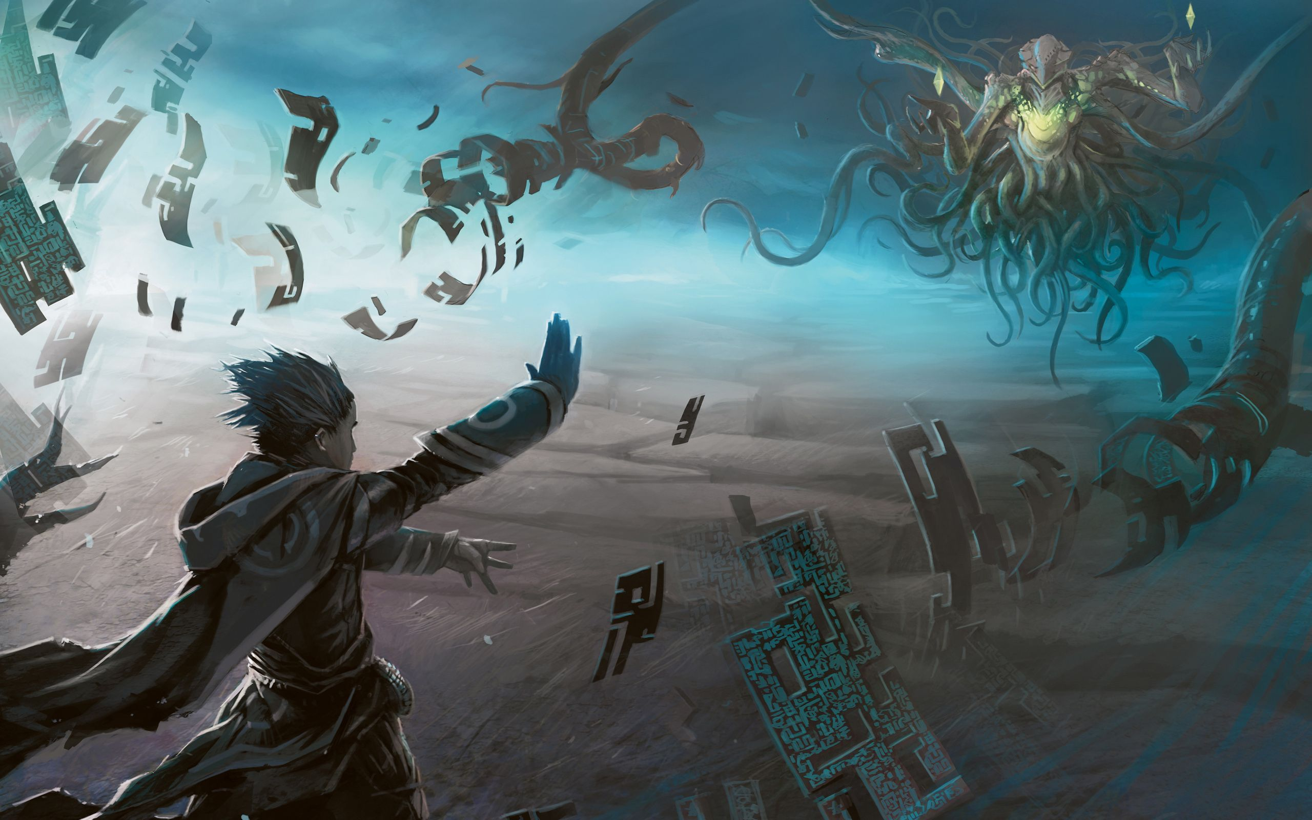 Magic The Gathering Wallpaper 2560x1600 Id 32836 Magic The Gathering Mystical World Concept Art Characters