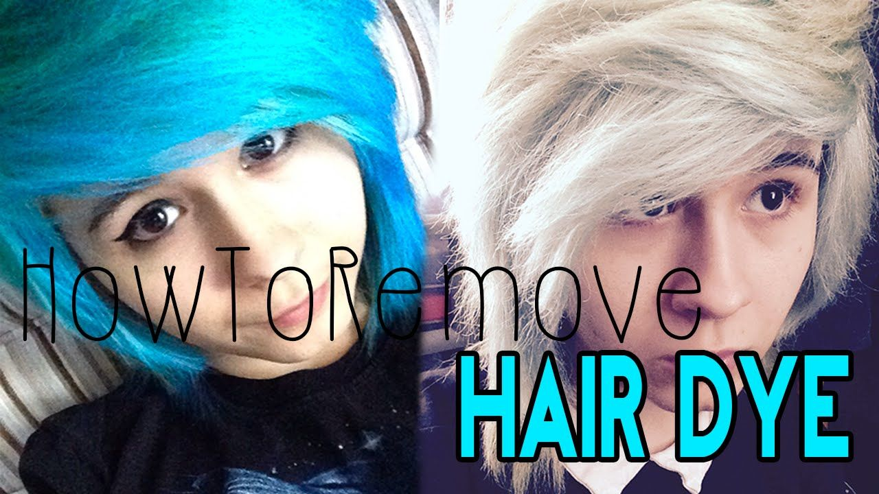 How To Remove Blue Hair Dye W Out Bleach Dyed Hair Blue Dyed