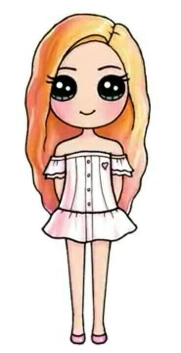 Es Preciosa Parece Una Angel Desenhos Kawaii Desenhos