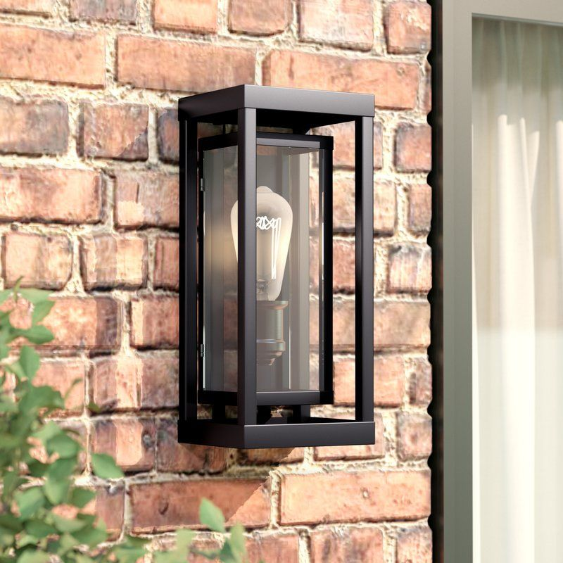 Eddleman Outdoor Sconce My Great Outdoors Wall