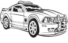 Print Coloring Pages Of Car Carros Para Colorir Desenhos De