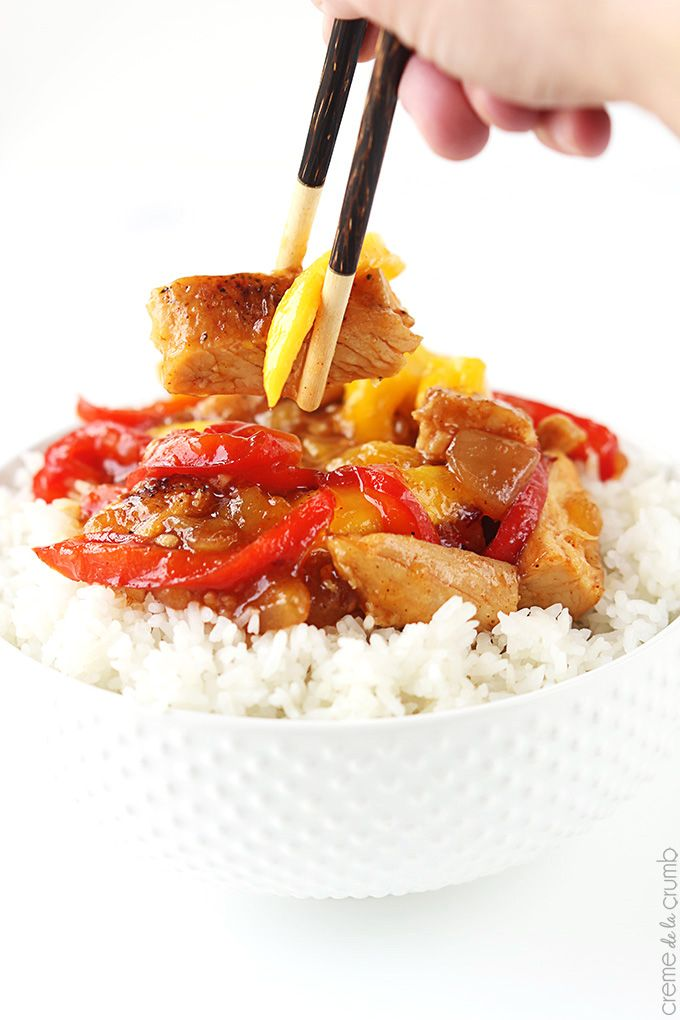 Dinner Is Going To Be Ah Mazing That S What I Said To The Hubbs When He Called On His Way Home From Work I Could Chicken Stir Fry Mango Chicken Halal Recipes