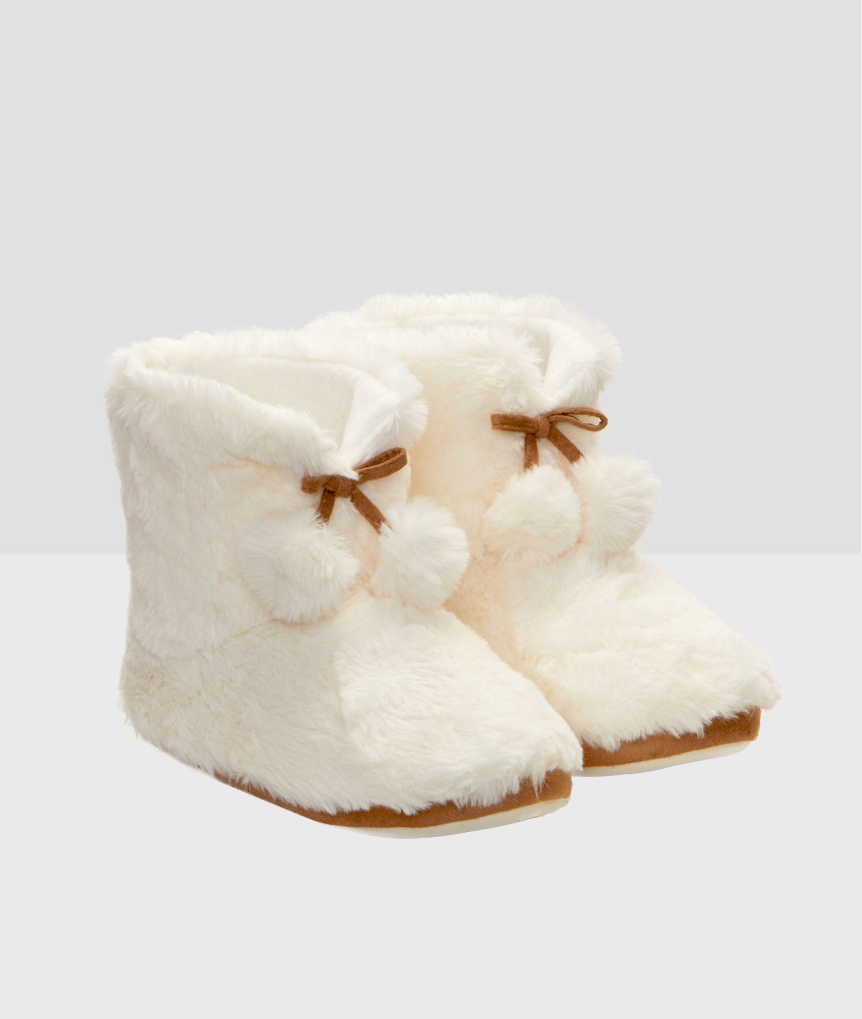 Mode Nouveau style Dessin animé Coton Chaussons L'automne Hiver Antidérapant talon de la couverture Chaussons 37# Rose pRlngki