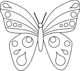 Schmetterling malvorlage 03 Malvorlage schmetterling