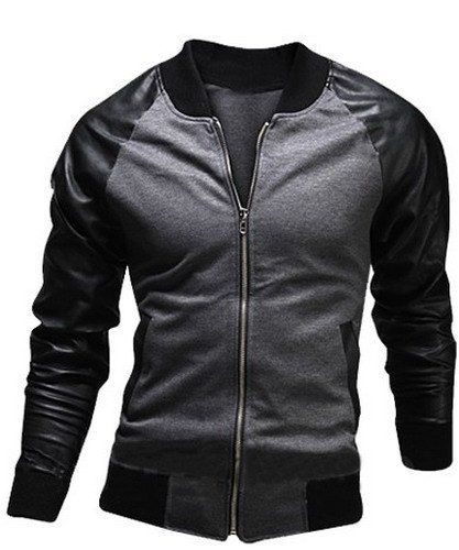 Faux Leather Coats Spring Men Fashion New Pu Leather Jackets Coats Mens Autumn Stand Collar Smart Casual Overcoats Outwear Size M-4xl Catalogues Will Be Sent Upon Request