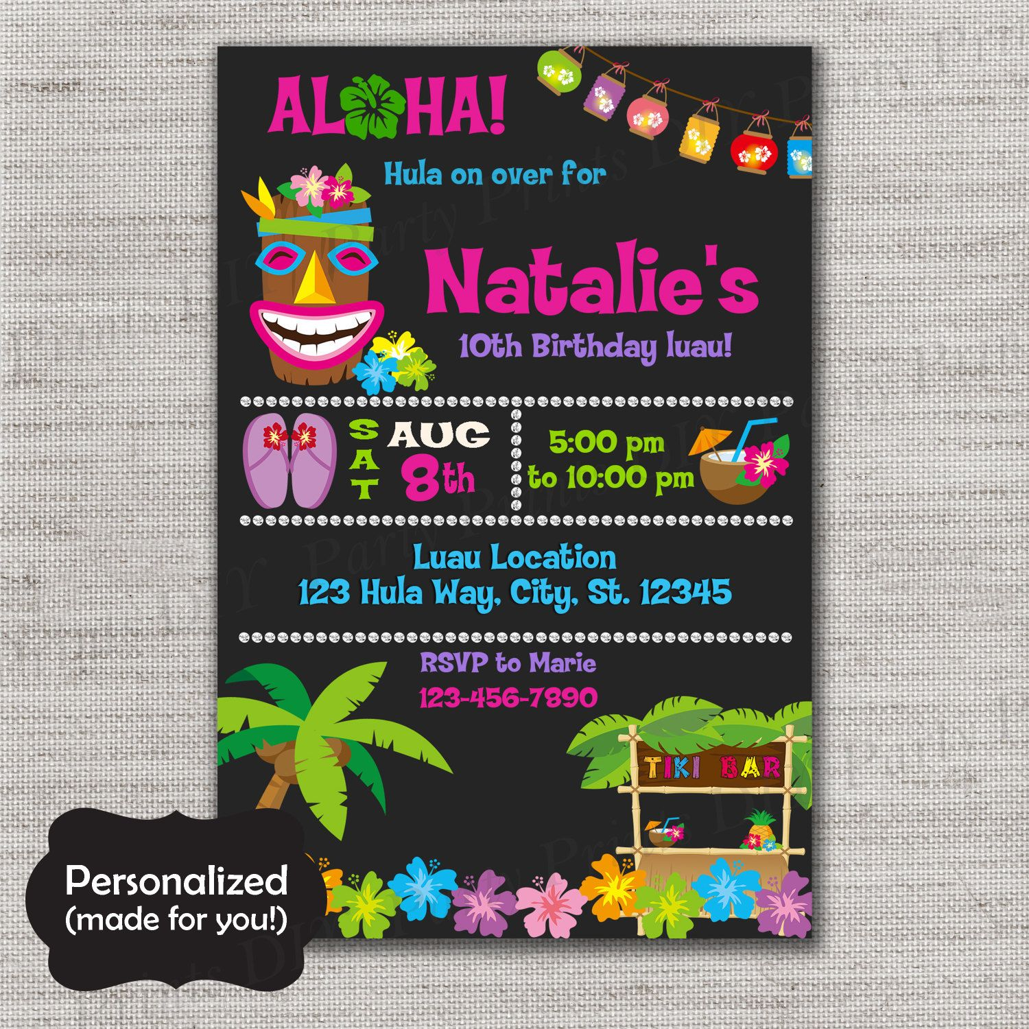 Pin by MLM Creative Designs on Party Invites