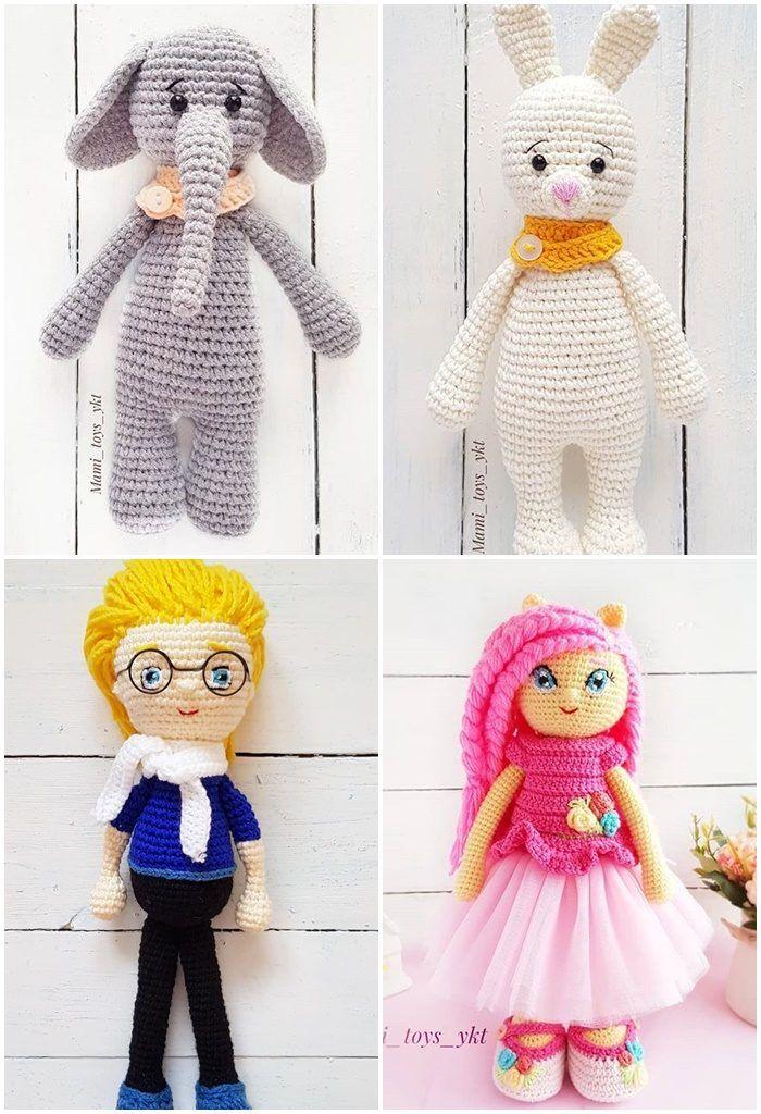 Lalaloopsy doll amigurumi pattern   Bonecas de crochê, Bichinhos ...   1024x700