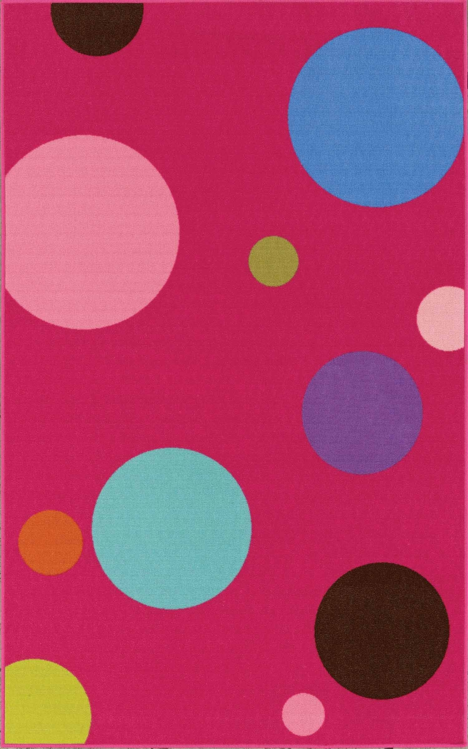 Dalyn 4Ever Young Fuchsia Carpet Rug, Price:$49.99
