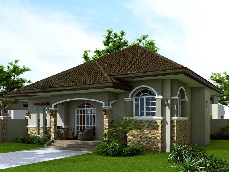 brick house designs philippines