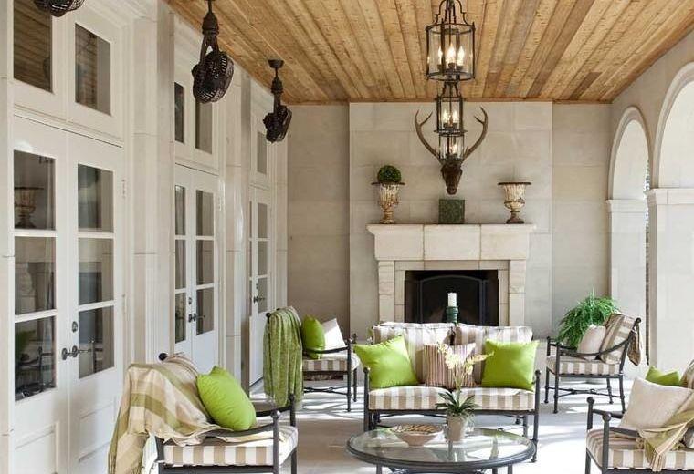 Terrazas cubiertas decoracion y diseño - 48 ideas Jardin