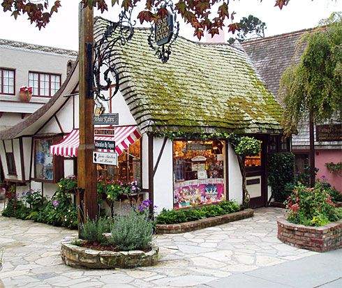 cottage of sweets fairy gardens pinterest carmel california