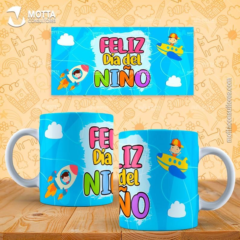 sublimation templates Día del Niño – Plantillas Tazas Día del Niño – mug template – sublimation
