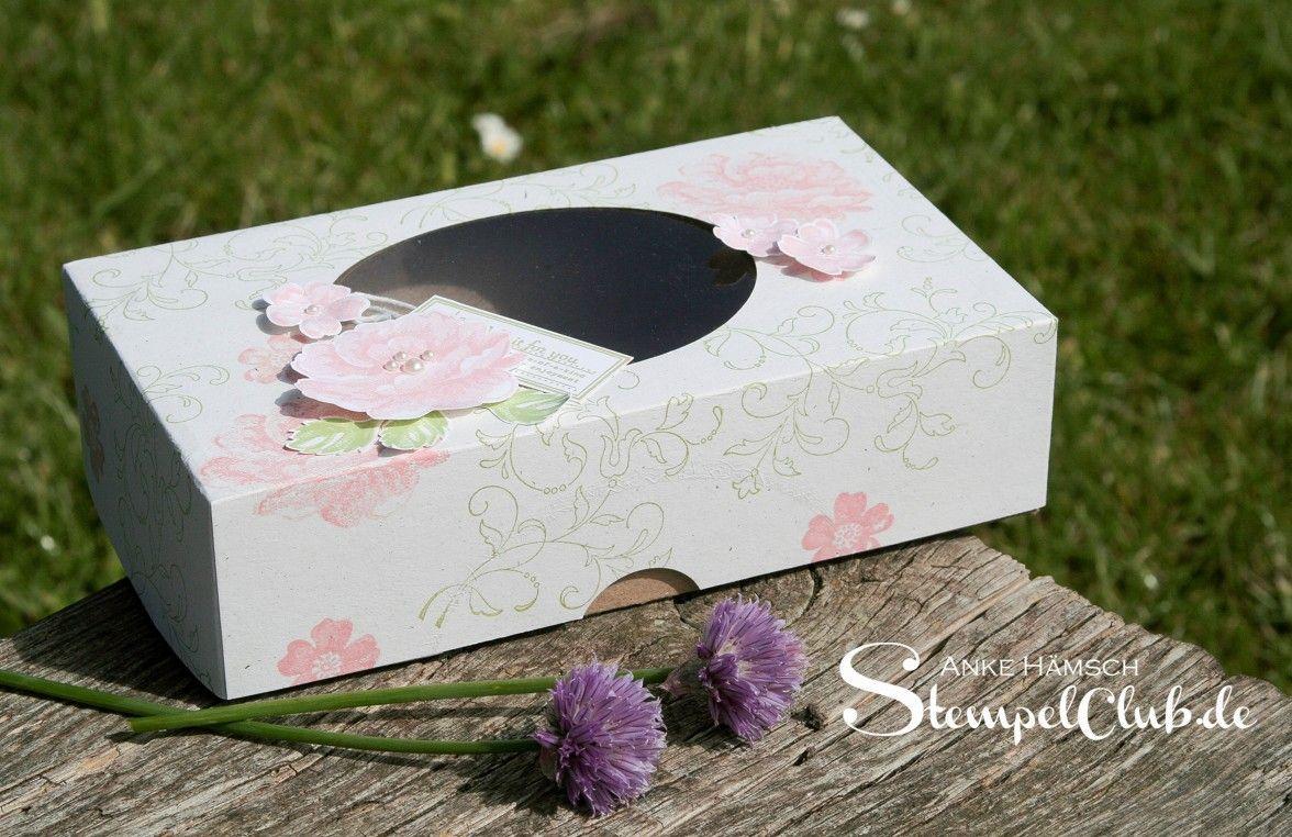 Leipzig stempelt - mit Stampin' Up!® Verpackung, Box, Stippled Blossoms, Hochzeit, Kreative Elemente