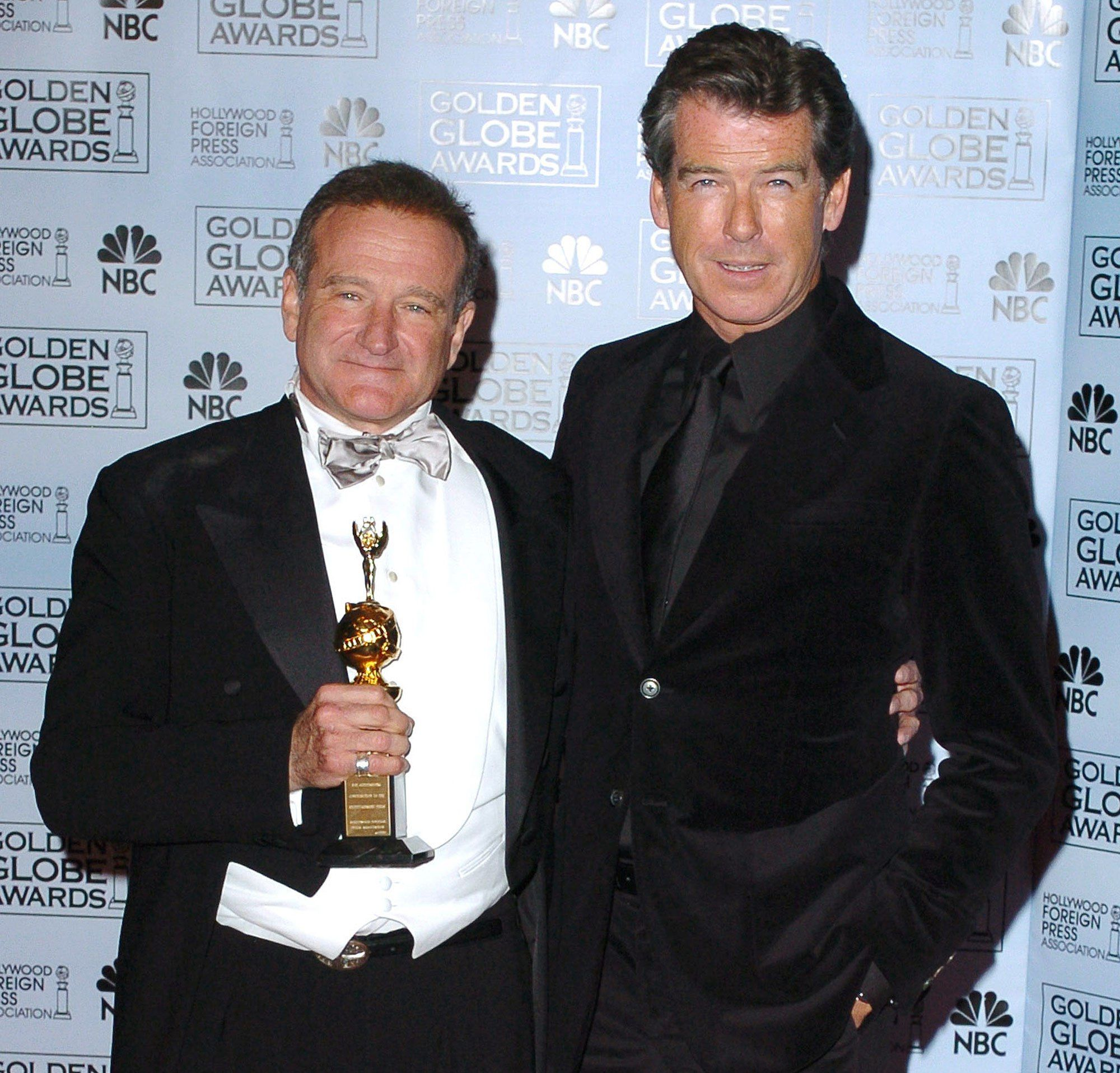 Pierce Brosnan On That Pool Scene In Mrs Doubtfire And Working With 39 The Great 39 Robin Williams