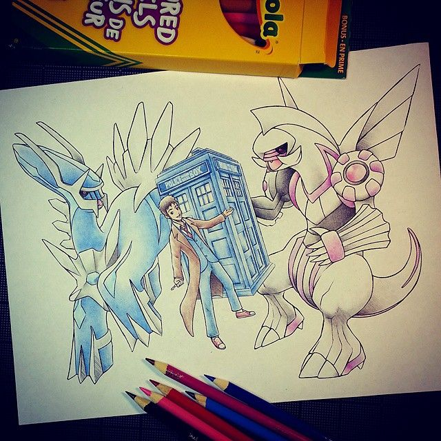 Artist: Itsbirdy | Doctor Who | Pokémon