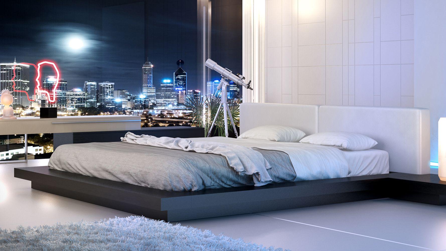 Brookline Bed - White on Wenge | Bedroom | Pinterest | Camera da ...
