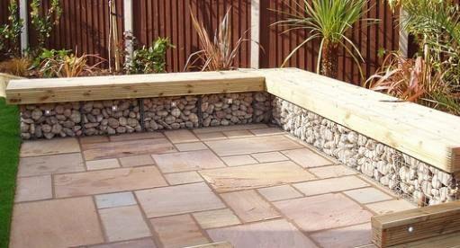 Gabion Landscaping Design Ideas Rocks Stone Walls Fences Usa | New