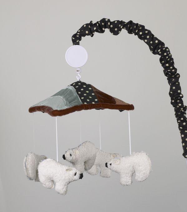 Polar Bear Mobile From Arctic Babies Range Kids Rooms