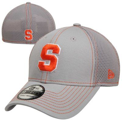 c6dfa2eec63d6 New Era Syracuse Orange 39THIRTY Neo Stretch Fit Hat - Gray