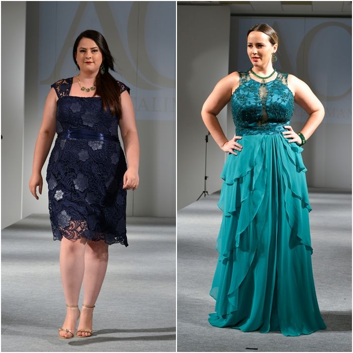 Vestido de festa longo plus size 2015