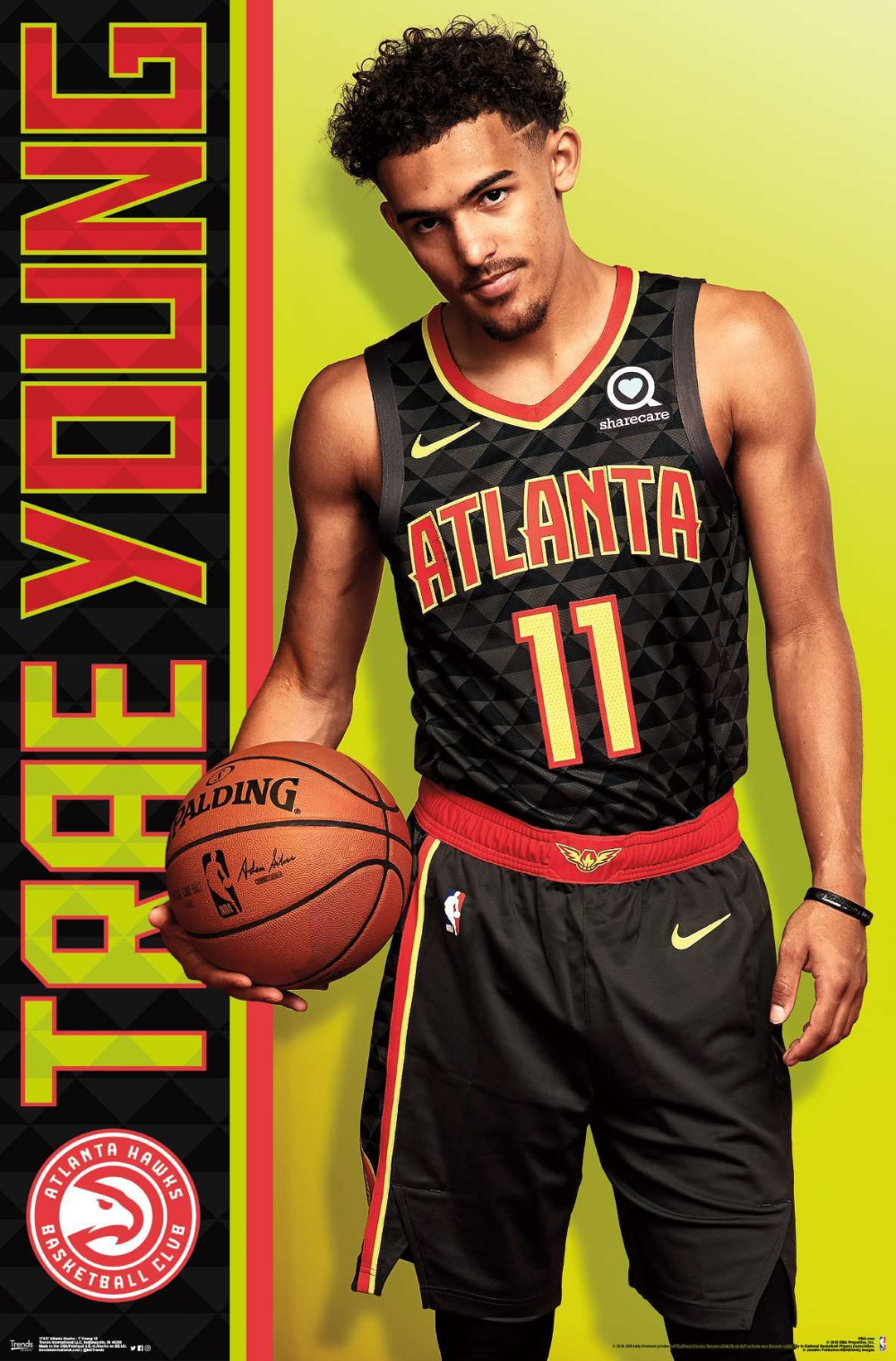 NBA Atlanta Hawks Trae Young Atlanta hawks, Basketball