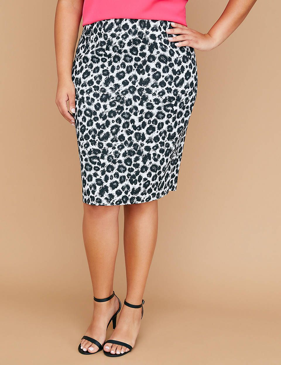 39d5a99d155 Leopard Pencil Skirt