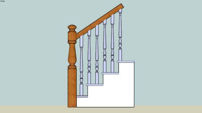 Stairway Detail   3D Warehouse