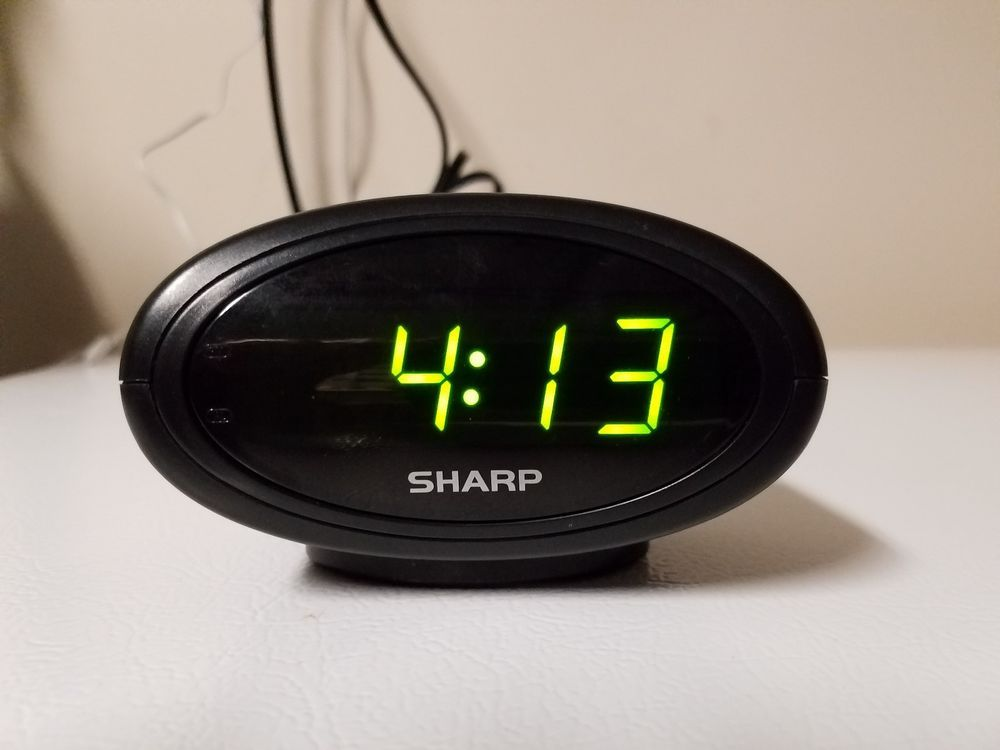 Little Sharp Digital Alarm Clock SPC040 #Sharp | Interesting