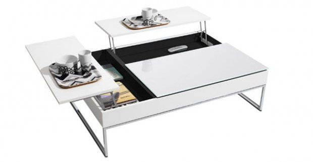 Coffee Table with Hidden Storage Space by Bo Concept Bo Concept