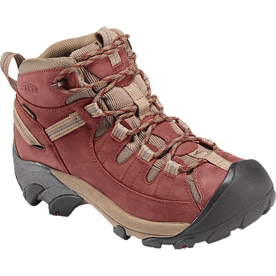 Sorel winter boots · On my list for the 2013 hiking season! KEEN Targhee ll  Mid Hiking Shoe -