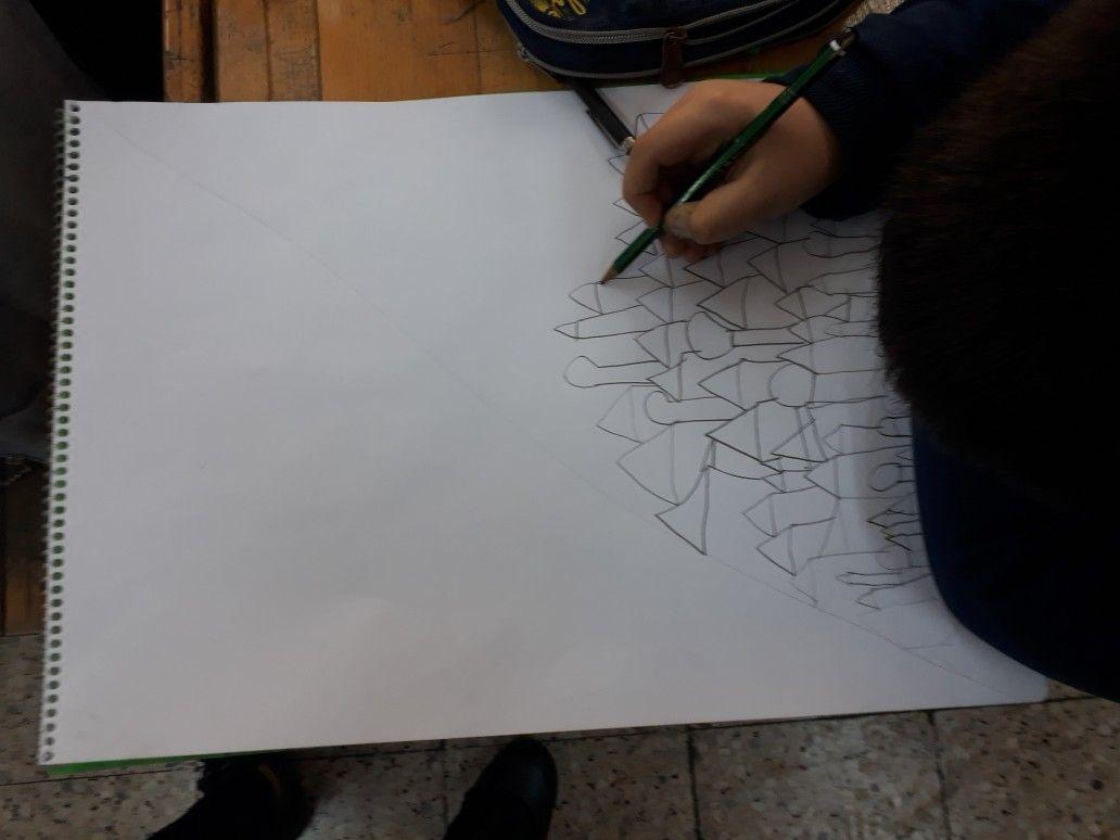 Makbule Sarı adlı kullanıcının Görsel sanatlar dersi çalışmaları  panosundaki Pin