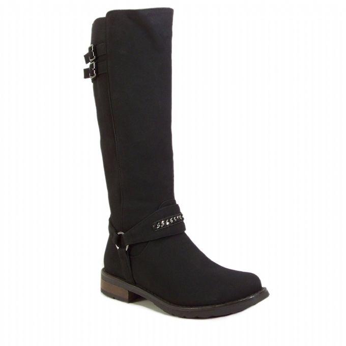 Kadin Cizme Siyah Bayan Cizme Cizmeler Bot Ayakkabilar
