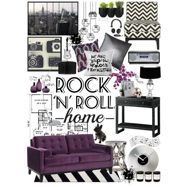 Rock N Roll Home Decor By Crystal85 On Polyvore Featuring Interior Interiors Design Decorating Safavieh