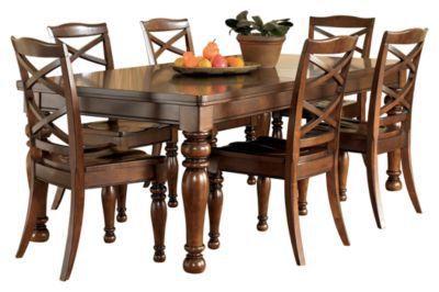 Ashleyu0027s Furniture Porter 5 Piece Dining Set $1762.46