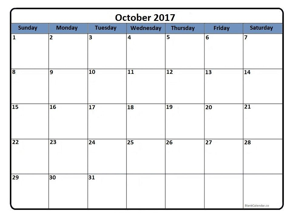 Pin By Calendar Printable On October  Calendar