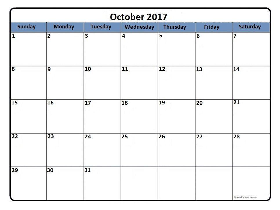 October 2017 Holidays http://socialebuzz.com/october-2017-calendar ...
