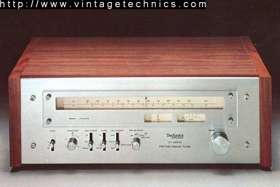St 8600 Fm Am Stereo Tuner Radio Frequency Vintage