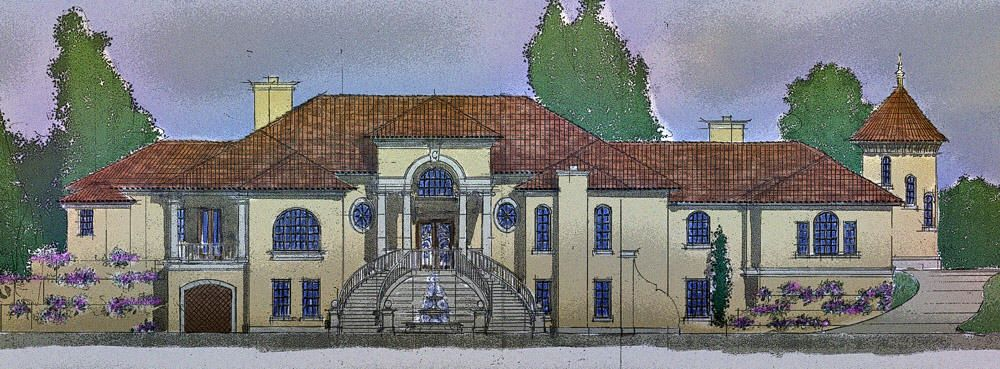 Classic Villa Elevation Google Residential Houses
