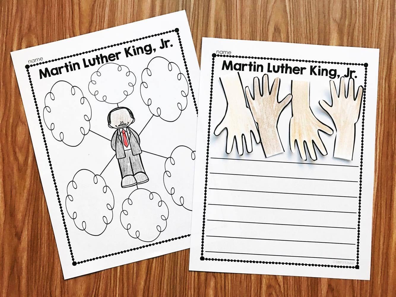 Martin Luther King Kindergarten Printables