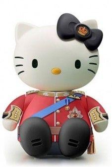 Principe Guillermo de Wales Hello Kitty