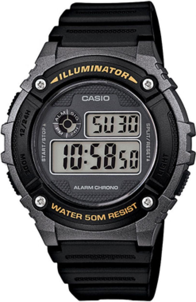 Casio W 216h 1bvdf Kol Saati Erkek Kol Saatleri Cinsiyet Ve Saatler