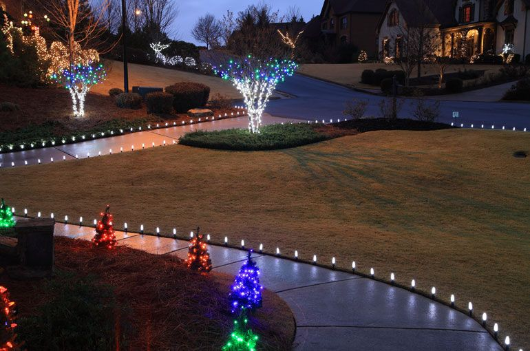 Outdoor Christmas Yard Decorating Ideas Christmas Lights Etc Outdoor Christmas Lights Outdoor Christmas Decorations Yard Christmas Yard Decorations