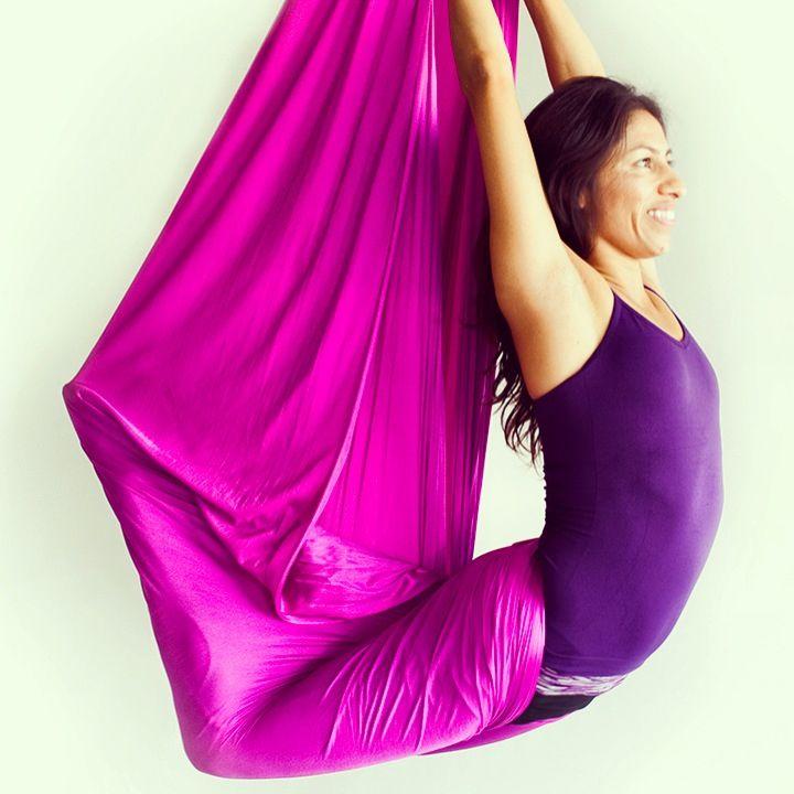 Aerial Yoga Yoga Pose Aerial Yoga Poses Aerial Yoga Aerial