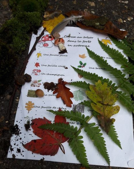 Hervorragend DEUX SOEURS | UN AGENDA: Chasse aux Trésors dans la Nature | Idées  MT22